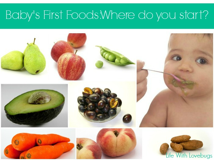 Recipes For Babys First Foods