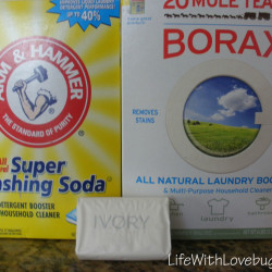 DIY Powdered Laundry Soap