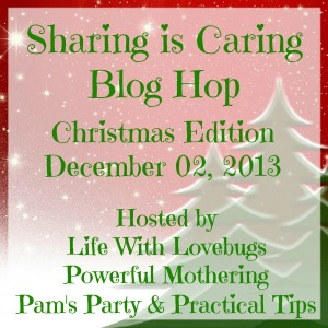 Sharing Is Caring Christmas Blog Hop