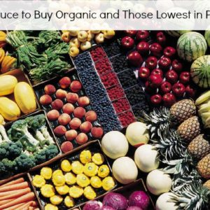 Top Produce to Buy Organic and Those Lowest in Pesticides