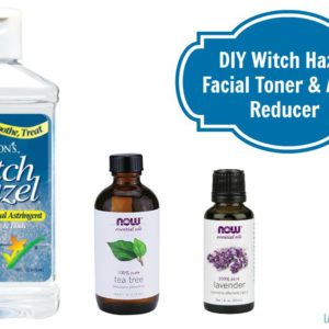 Witch Hazel Facial Toner and Acne Reducer