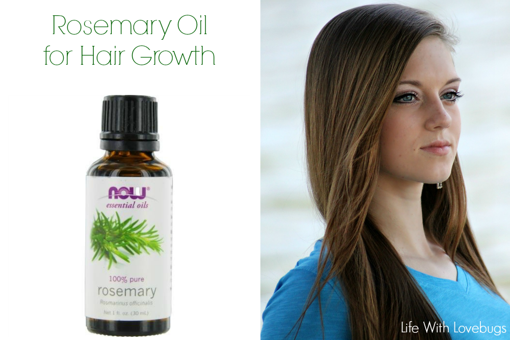 Rosemary oil and hair