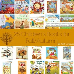 25 Children's Book About Fall/Autumn