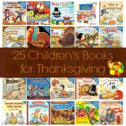 25 Children's Books for Thanksgiving