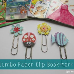 Jumbo Paper Clip Bookmarks