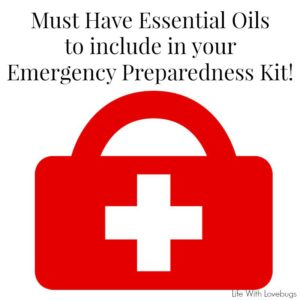 Emergency Preparedness with Essential Oils
