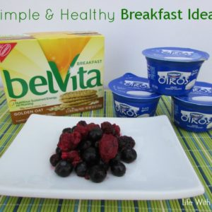 Simple & Healthy Breakfast Ideas