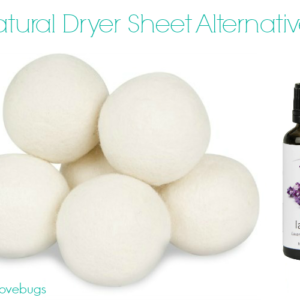 Natural Alternative to Dryer Sheets