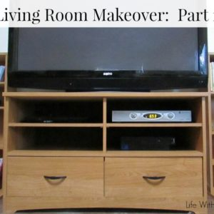 Sauder Living Room Makeover