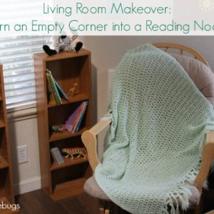 Living Room Makeover: Turn an Empty Corner into a Reading Nook
