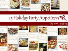 25 Holiday Party Appetizers