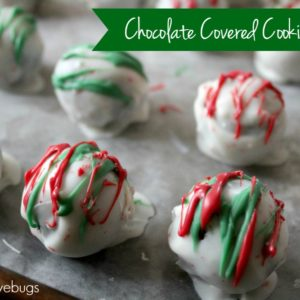 Chocolate Covered Cookie Balls
