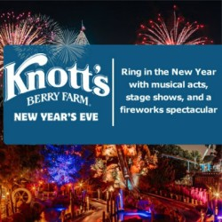 Knotts Berry Farm New Year Eve Celebration