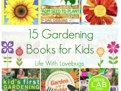 15 Gardening Books for Kids