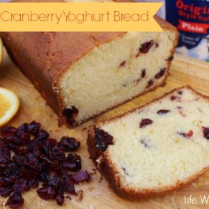 Orange Cranberry Yogurt Bread