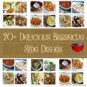 Over 20 Barbecue Side Dishes - Perfect for any Summer party!
