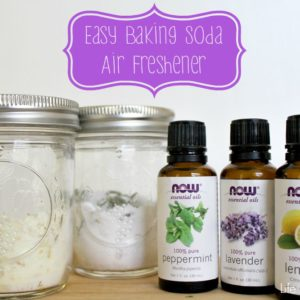 Easy Baking Soda Air Freshener