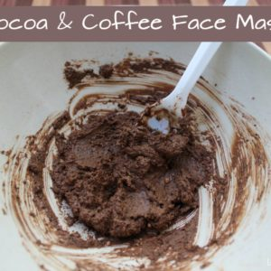 Cocoa and Coffee Face Mask