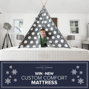 Custom Comfort Mattress Holiday Giveaway!