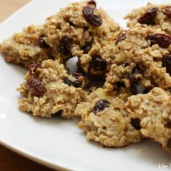 3 Ingredient Oatmeal Banana Cookies