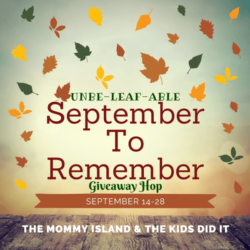 Unbe-Leaf-Able September to Remember Giveaway Hop