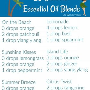 20 Summer Essential Oil Blends