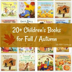 More than 20 Children's Books for Fall and Autumn