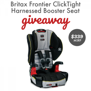 Britax Frontier ClickTight Harness Booster Seat Giveaway