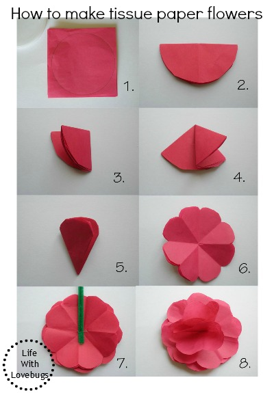 how to make tissue paper roses for kids 2011-05-17  how to make tissue paper roses tissue paper roses are inexpensive to make, but the result is a handmade decoration that's quite beautiful they can be used to decorate everything from a wedding reception hall to a wrapped.