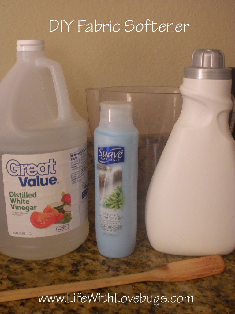 Diy fabric softener life with lovebugs - How to make your own fabric softener ...