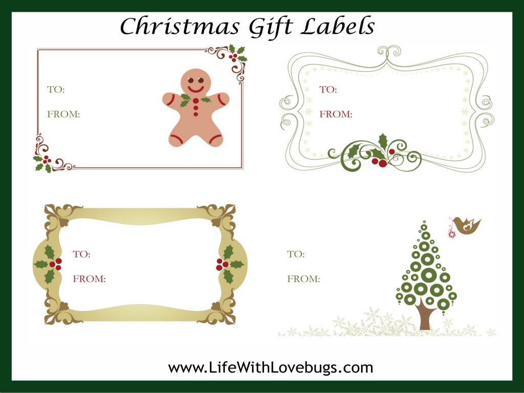 Christmas Labels Amp Design Elements Vector Free Download Pictures to ...