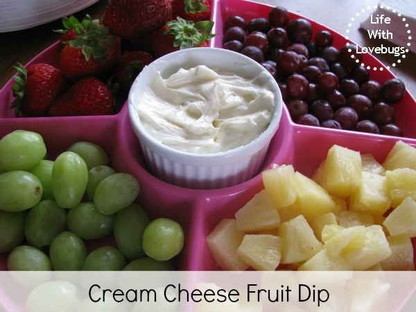 fruit dip with cream cheese life fruit