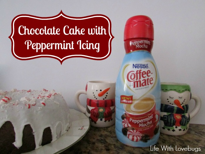 Chocolate Cake with Peppermint Icing. Perfect for celebrating ...