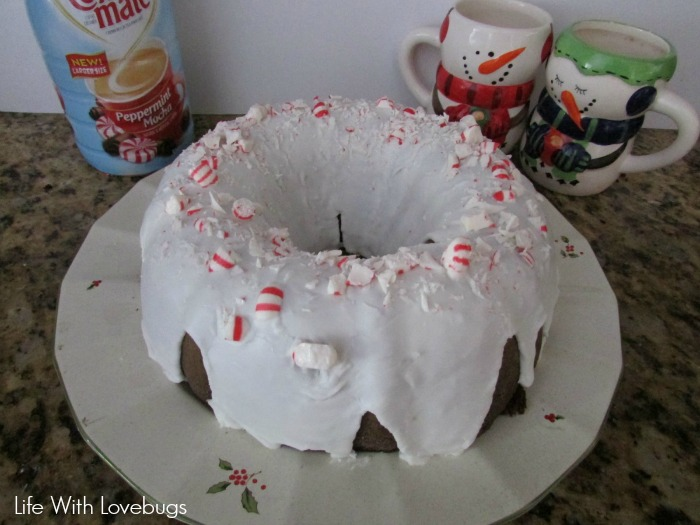 Chocolate Cake with Peppermint Icing - Life With Lovebugs
