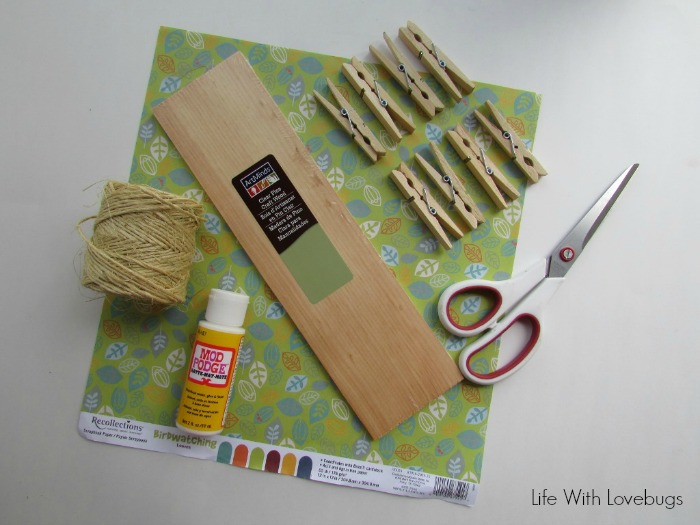 How to Make a Hanging Tea Bag Organizer - Life With Lovebugs