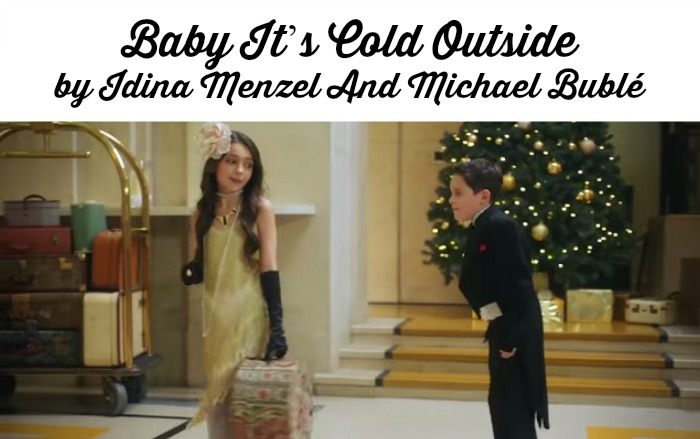 Baby it s cold outside by idina menzel and michael bubl - Michael in the bathroom sheet music ...