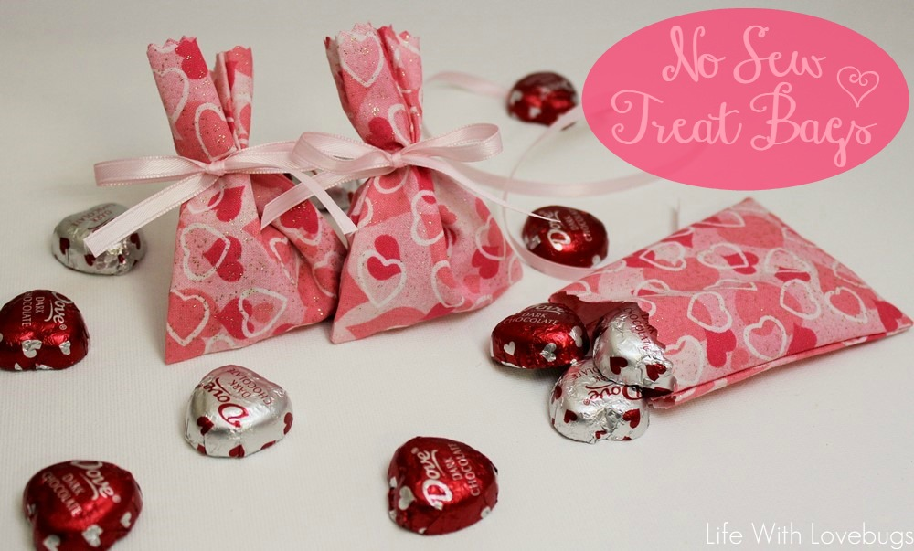valentines day no sew treat bags life with lovebugs
