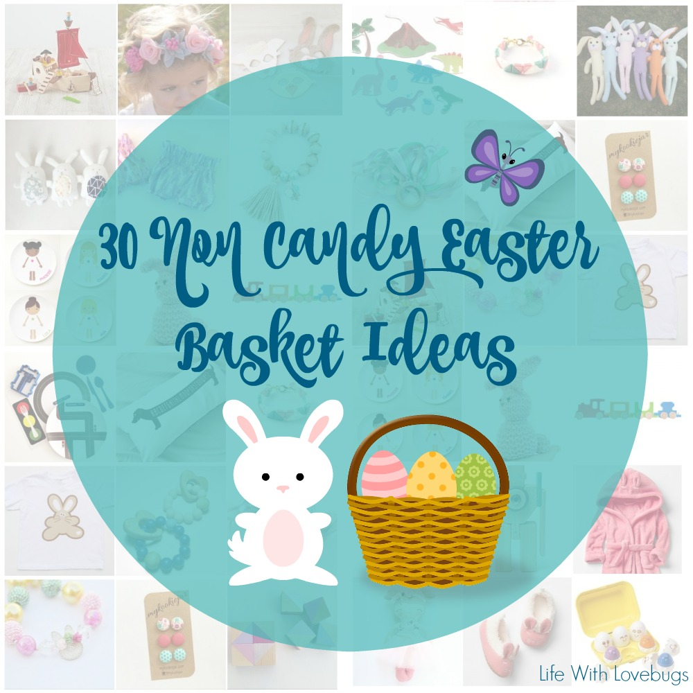 30 non candy easter basket ideas life with lovebugs for Non traditional easter dinner ideas