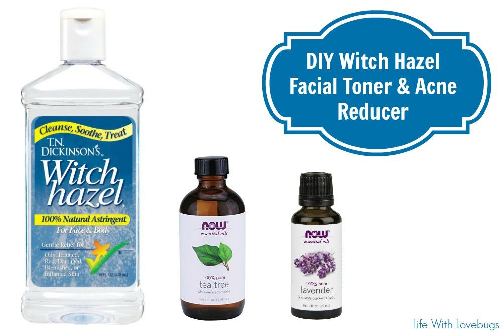 Diy Witch Hazel Facial Toner Amp Acne Reducer Life With